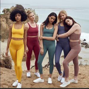 Girlfriend collective hi rise leggings